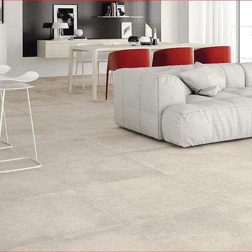 Betonlook grijs 75x75 vloertegels / wandtegels