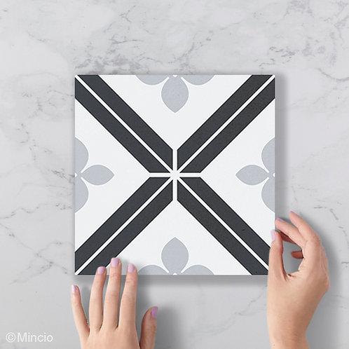 Patroon tegels 20x20 fleurig wandtegels / vloertegels