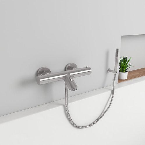 Mahale opbouw badkraan thermostaat set zuiver 304 RVS