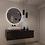Thumbnail: Ronde spiegel 80cm met indirecte verlichting