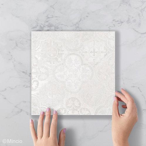 Portugese tegels 20x20 fugji versleten patroon grijze wandtegels / vloertegels