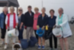 Hands on Beach Cleanup