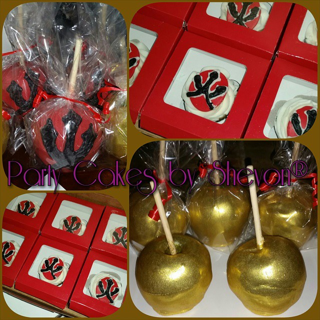 Instagram - It's candy apple season! Check out these Golden chocolate apples and