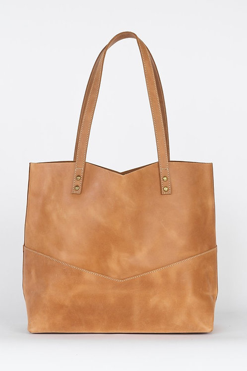 Traveler's Leather Tote