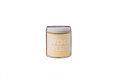 Wood Preserve-Hand-blended 100% Food-grade Local Beeswax and Coconut Oil 6oz.