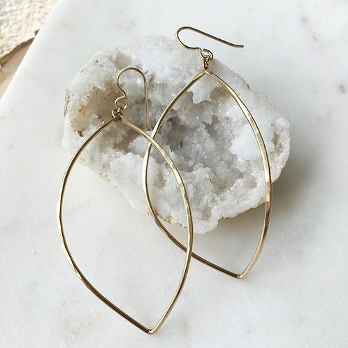 14K Gold Filled Lemon Drop Dangle Earrings