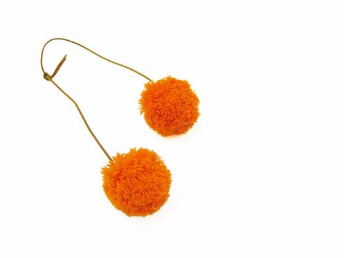 Pom Pom - Orange & Orange