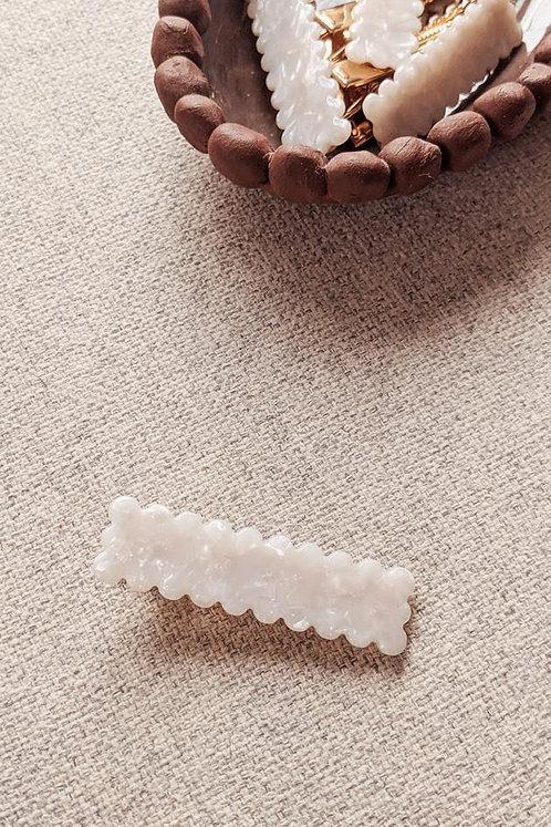 Lagos Hair Clip Hair Accessory Pearly White