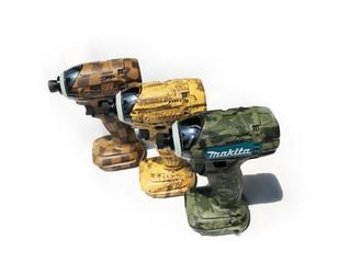 電動工具に水圧転写/My tools