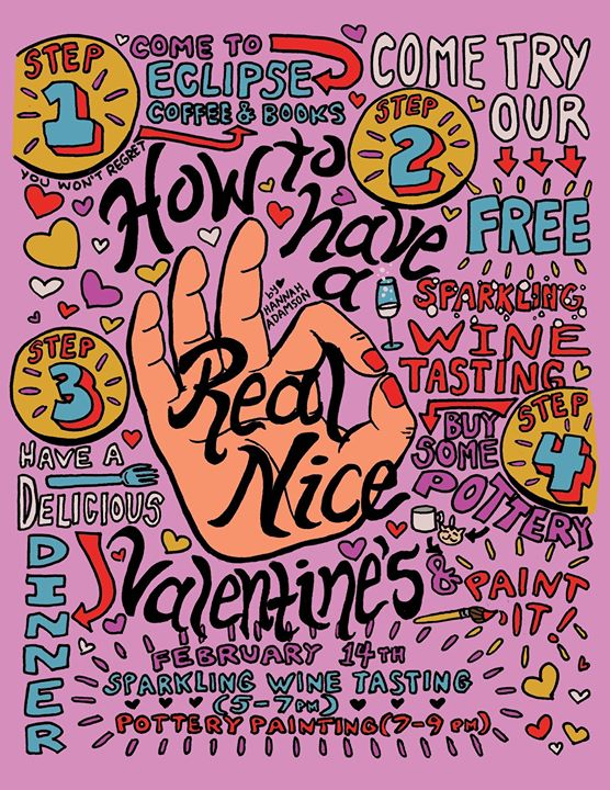 I misspelled _Valentine's_ on the datgum Valentine's day poster. _But I fixed it.