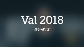 Riksdagsval 2018