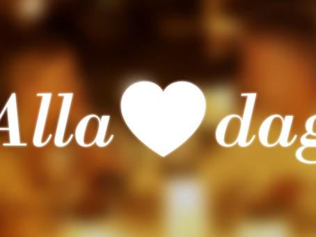 Alla hjärtans dag = der Tag aller Herzen