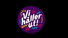 Vi håller ut! - schwedische Musiker rufen zu Durchhaltevermögen auf!
