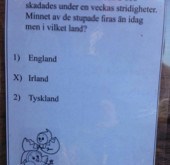 Tipspromenad – die Schwedische Jagd nach dem Schnitzel!