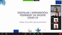 Radionice ,,Digitalna i informatička pismenost za vrijeme COVID-19''