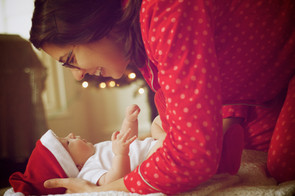 Tips on how to make it through the holidays with a happy and well-rested baby.