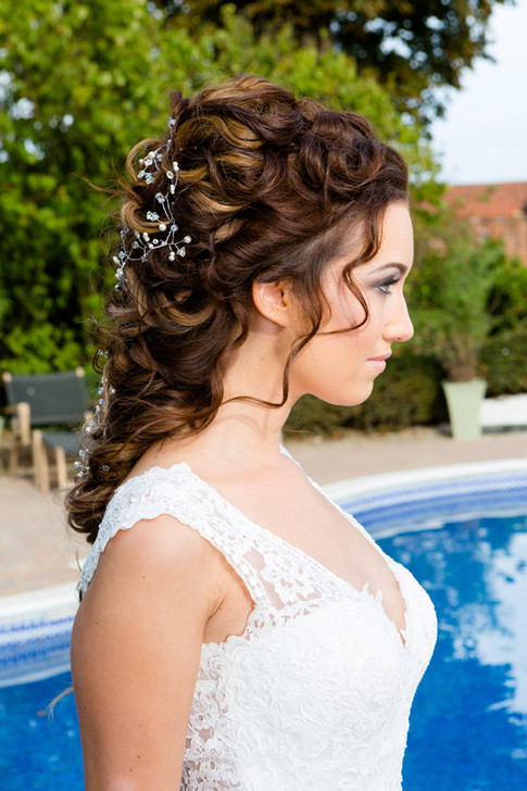 Wedding Hair Vaulty Manor