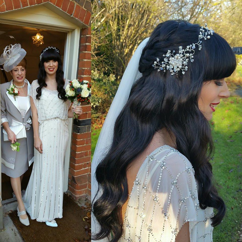 Hedingham Castle Bride