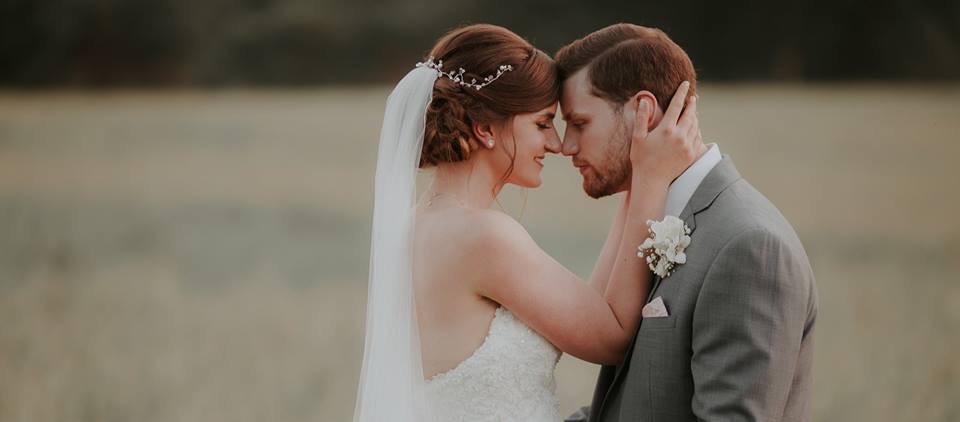 Bride and Groom Gosfield Hall wedding hair