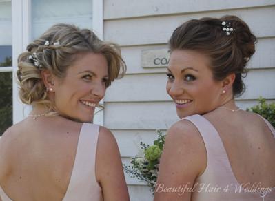 Bridesmaids at Blake Hall