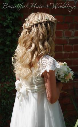 Flower Girl at Woodhall Manor