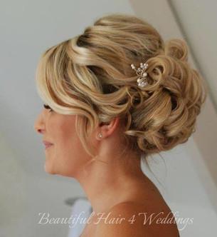 Woodhall Manor Suffolk Bridal hair
