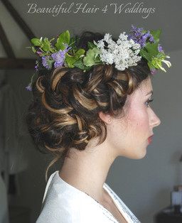 Boho with flower crown
