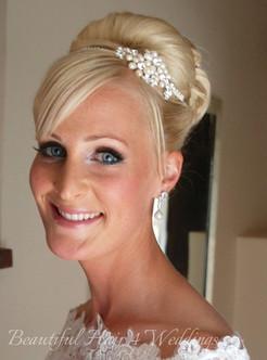 Channells Golf Club Bridal Hair