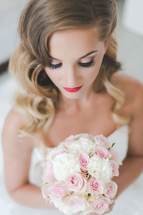 Bridal Boudoir shoot  image by Anna Marie Cooper Make-up by Emma Brooks