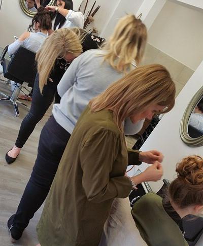 Bridal Hair Training  Course Essex