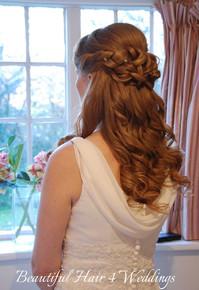 Bride at Hedingham Castle