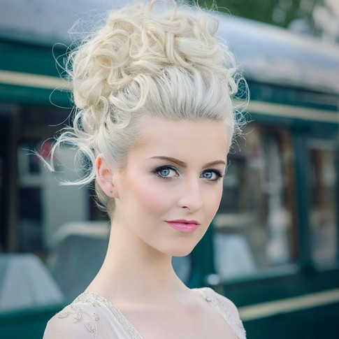 Hair styled by Tina Crossley Essex Wedding Hairstylist