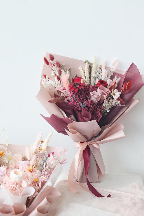 Luxe Hydrangea Preserved Bouquet