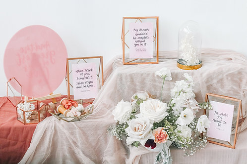 Wedding Table Decor Rental: Vol.2