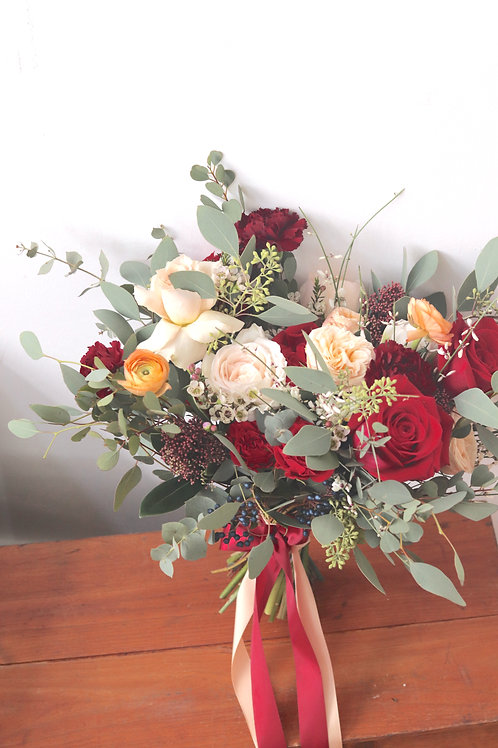 Fuss-Free Bridal Bouquet
