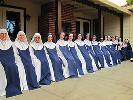 """As Marian Sisters of Santa Rosa we live to be love at the heart of the Church, by striving """"to magnify Jesus Christ ... through living fullness of the Church's liturgical life."""""""