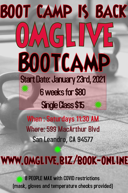 Single Boot Camp Class
