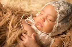 canvas newborn photos