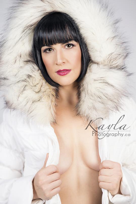 woman boudoir photographer