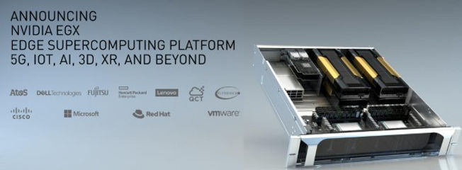 Nvidia EGX 合作夥伴 邊緣運算