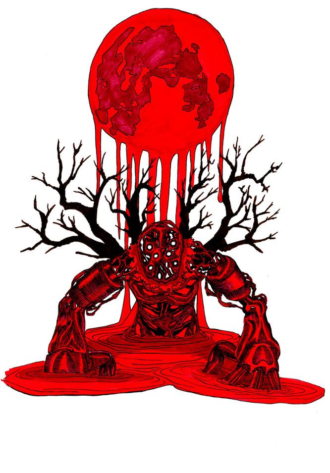 Blood Moon Demon