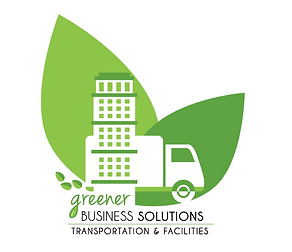 Logo for Greener Business Solutions Transportation and Facilities Services