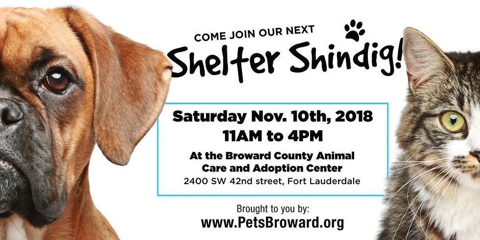 November 10th Shelter Shindig