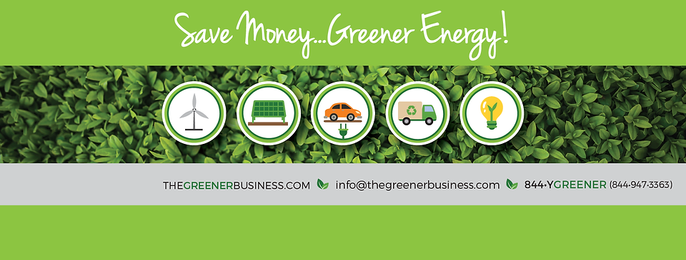 TheGreenerBusiness.com contact information.  Email us at info@thegreenerbusiness.com or call us at 844-YGREENER