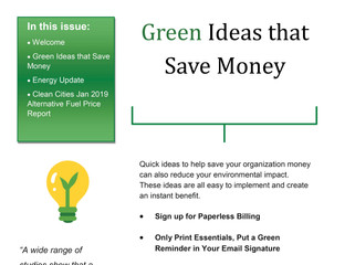Greener News - Our Newsletter