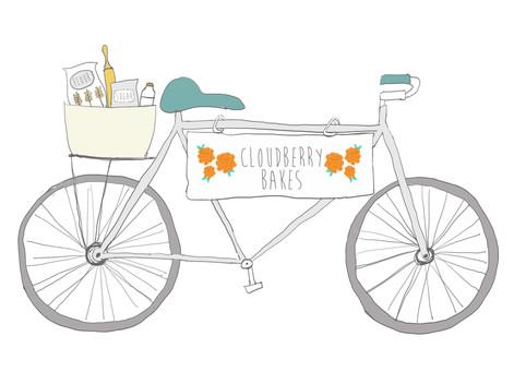 Cloudberry Bakes Logo Design