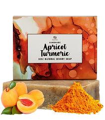 Apricot Turmeric Face Lightening Soap Parsley Powder