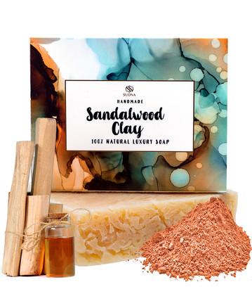 Sandalwod Clay Soap