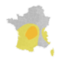 Risque orageux France