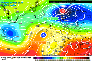 Modélisation de l'atmosphère par le modèle CEP